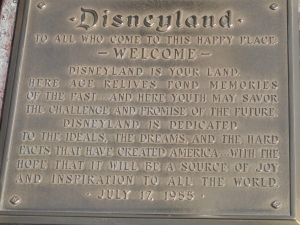 Disney Experience - Disney Dedication Plaque - Disney Experience