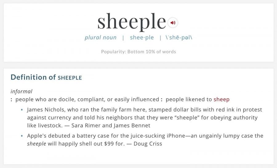 Sheeple Definition